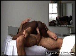 Insatiable Black Tart Loves To Suck Cock