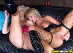 Lesbian Brooke Haven Dines Out