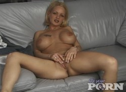 Blond Angelina Gives POV Blowjob