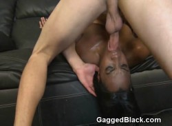 Ebony Beauty Face Fucked By Dirty White Dude