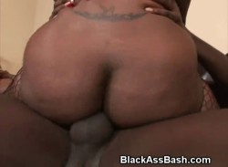 Two Girls With Big Black Ghetto Asses Fucked